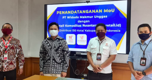 Widodo Makmur Unggas Jalin MoU dengan Retail Komoditas Nusantara - JPNN.com