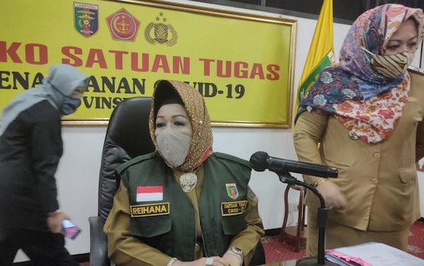 Update Corona 25 Agustus 2020: Reihana Sampaikan Kabar Gembira dari Lampung - JPNN.com