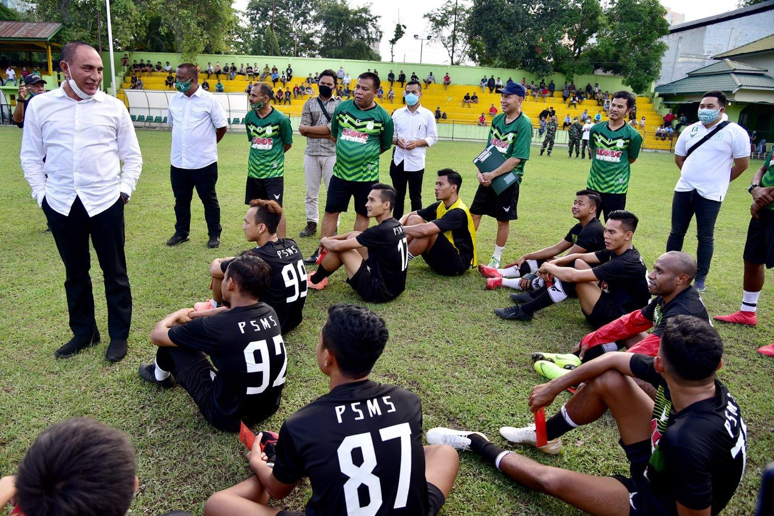 Jelang Liga 2 2020, Edy Rahmayadi Beri Pesan untuk PSMS Medan - JPNN.com