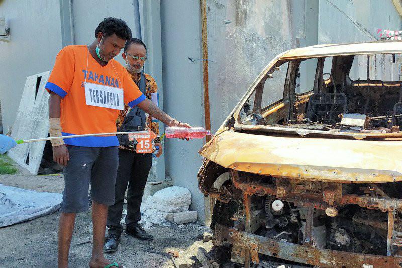 Mendengar Tuntutan Jaksa, Pembakar Mobil Via Vallen Bereaksi, Begini Kalimatnya - JPNN.com