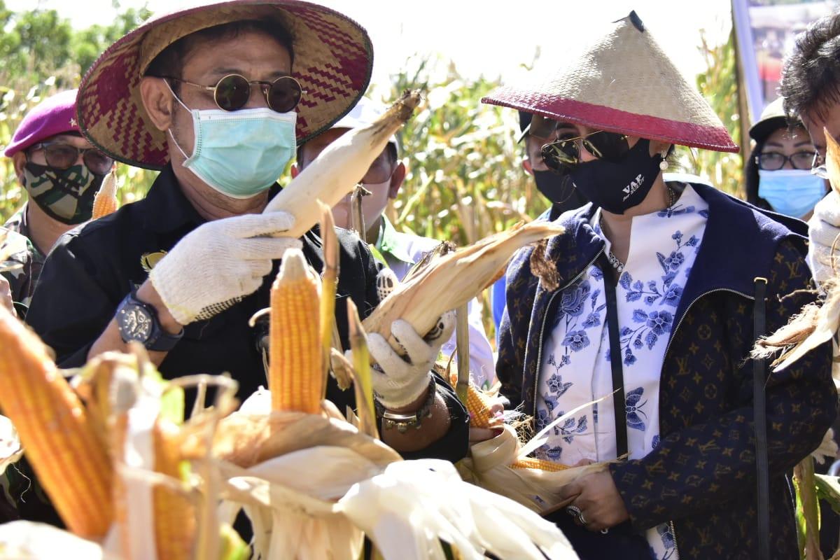 Mentan SYL Tingkatkan Produksi Pertanian di Sulawesi Utara - JPNN.com