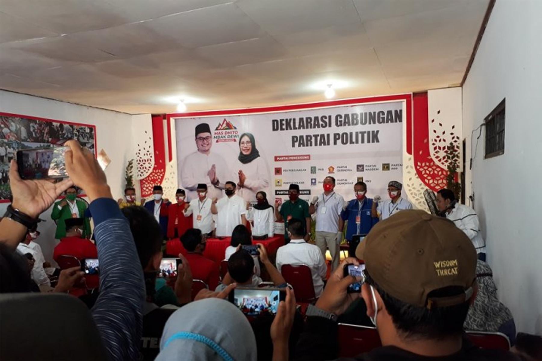 Kok Bisa Sepatu Taufiq Kiemas Ada di Anak Pramono Anung? - JPNN.com