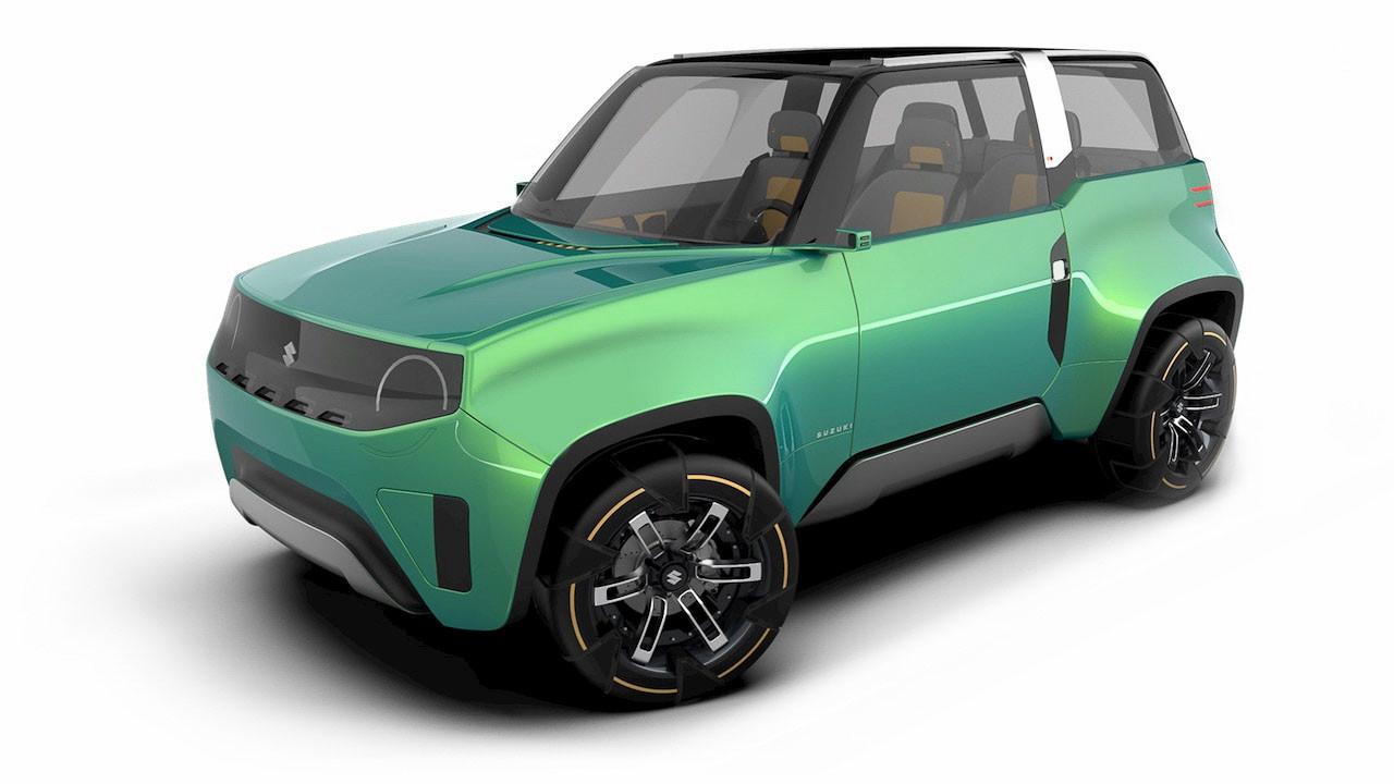 Mahasiswa Ini Ciptakan Desain Suzuki Jimny Hybrid, Begini Penampakannya - JPNN.com