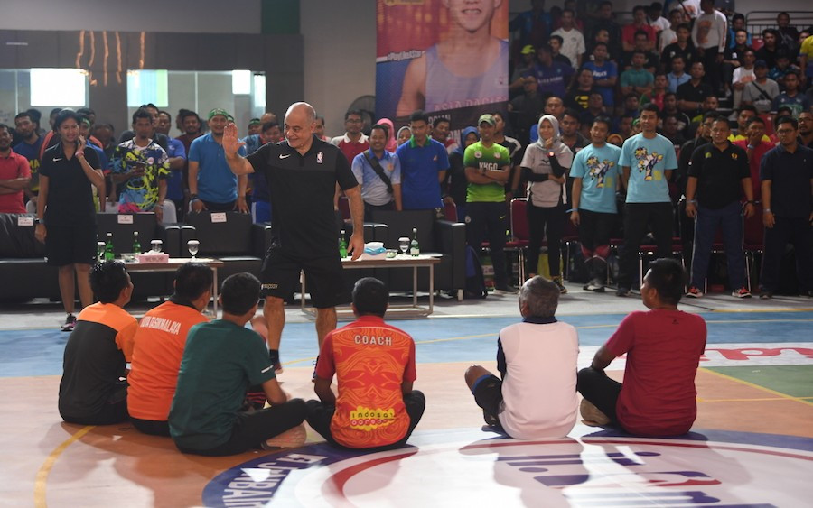 NBA kembali Gelar Program Pelatihan Jr. NBA Coaches Academy di Indonesia - JPNN.com