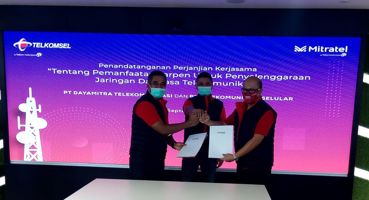 Mitratel dan Telkomsel Bersinergi Tingkatkan Layanan Telekomunikasi - JPNN.com