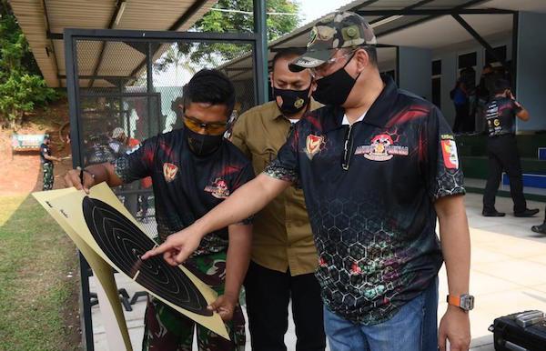 Bersama KASAU, Bamsoet Ramaikan Kejuaraan Menembak Paskhas Championship 2020 - JPNN.com