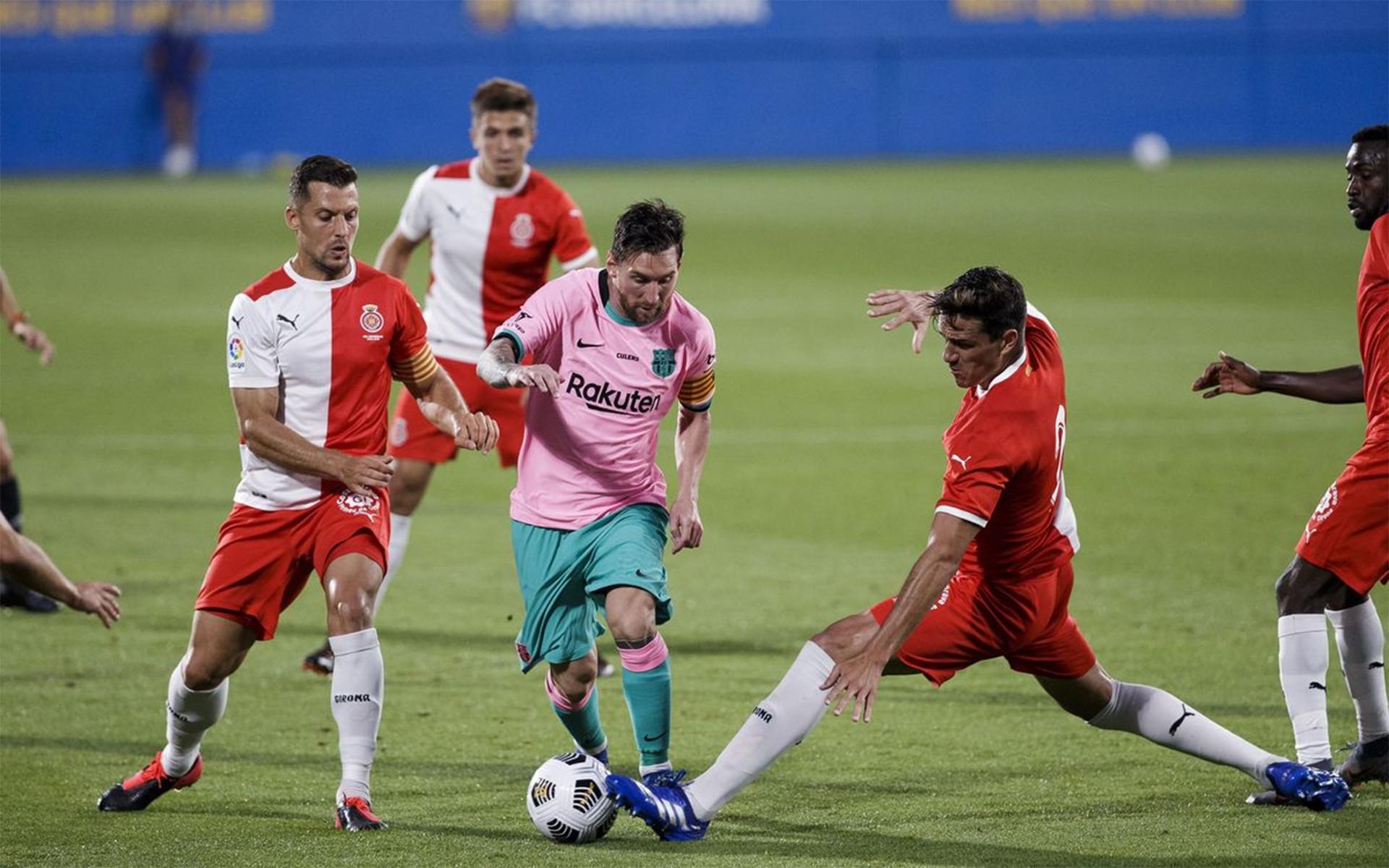 Lihat Gol Pertama Messi Untuk Barcelona Musim Ini, Pakai Kaki Kanan - JPNN.com