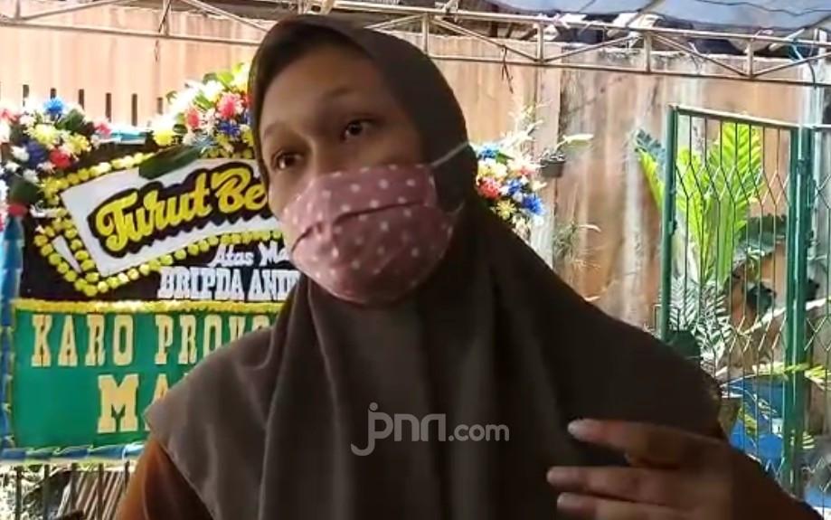 Briptu ABW Tewas Bersimbah Darah, Keluarga Duga Bukan Korban Begal - JPNN.com