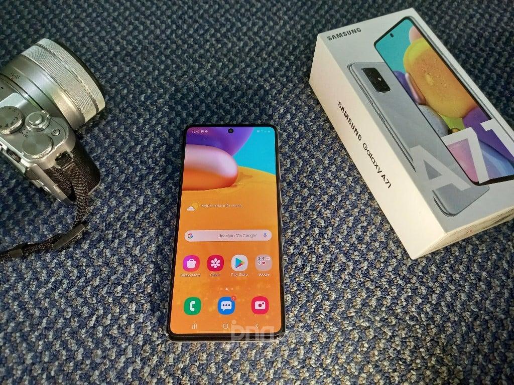 Samsung Galaxy A71 Varian Baru: Ponsel Menengah Rasa Flagship - JPNN.com