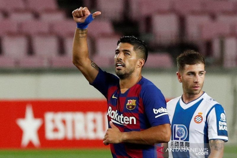 Lumayan Juga Nih Gaji Suarez di Atletico - JPNN.com