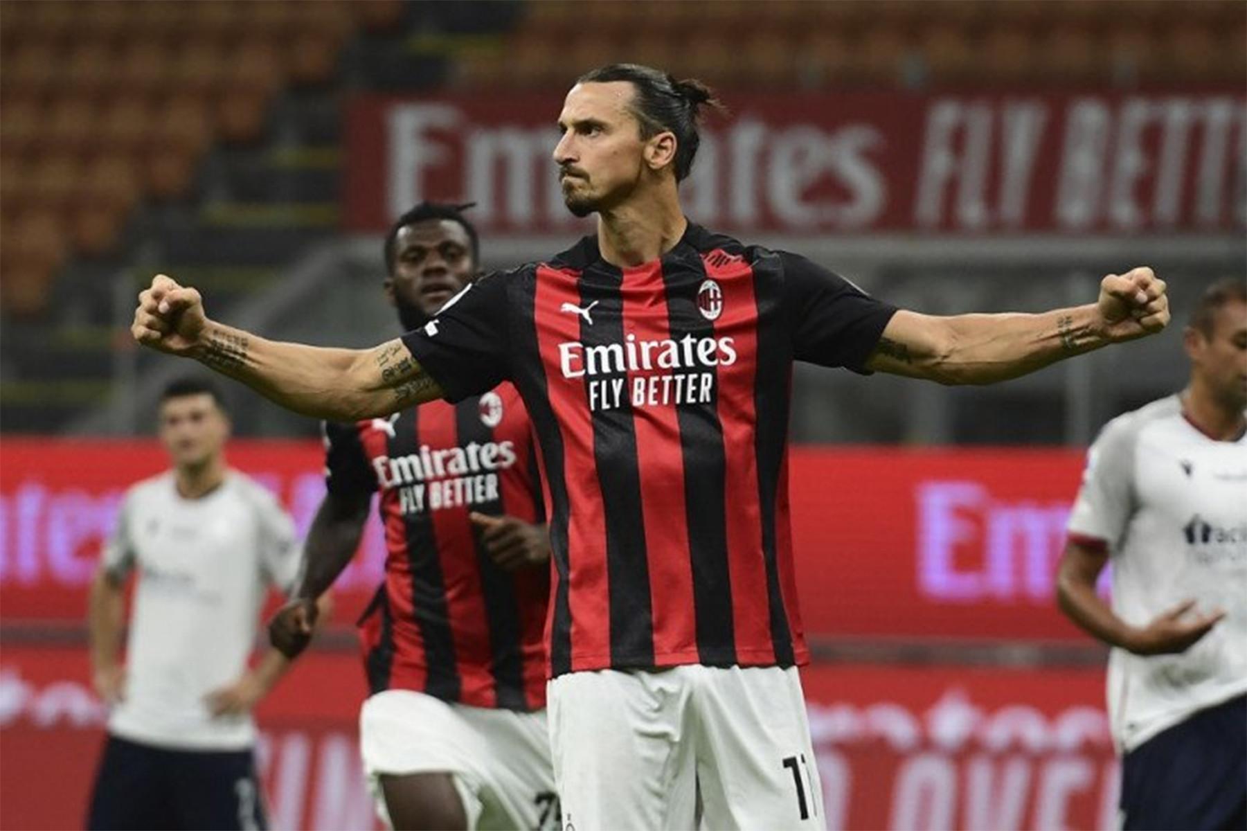 Ibrakadabra! AC Milan Pukul Bologna di Pekan Pertama Serie A - JPNN.com