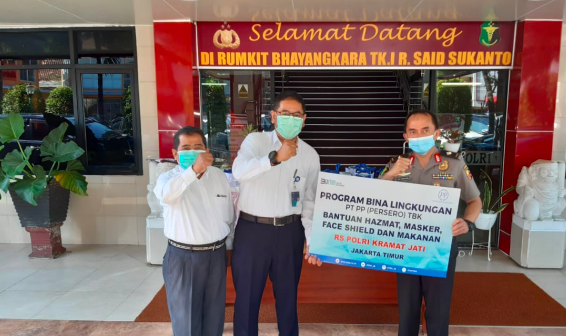 PT PP Salurkan Bantuan Logistik ke RS Polri dan RSUD Pasar Minggu - JPNN.com
