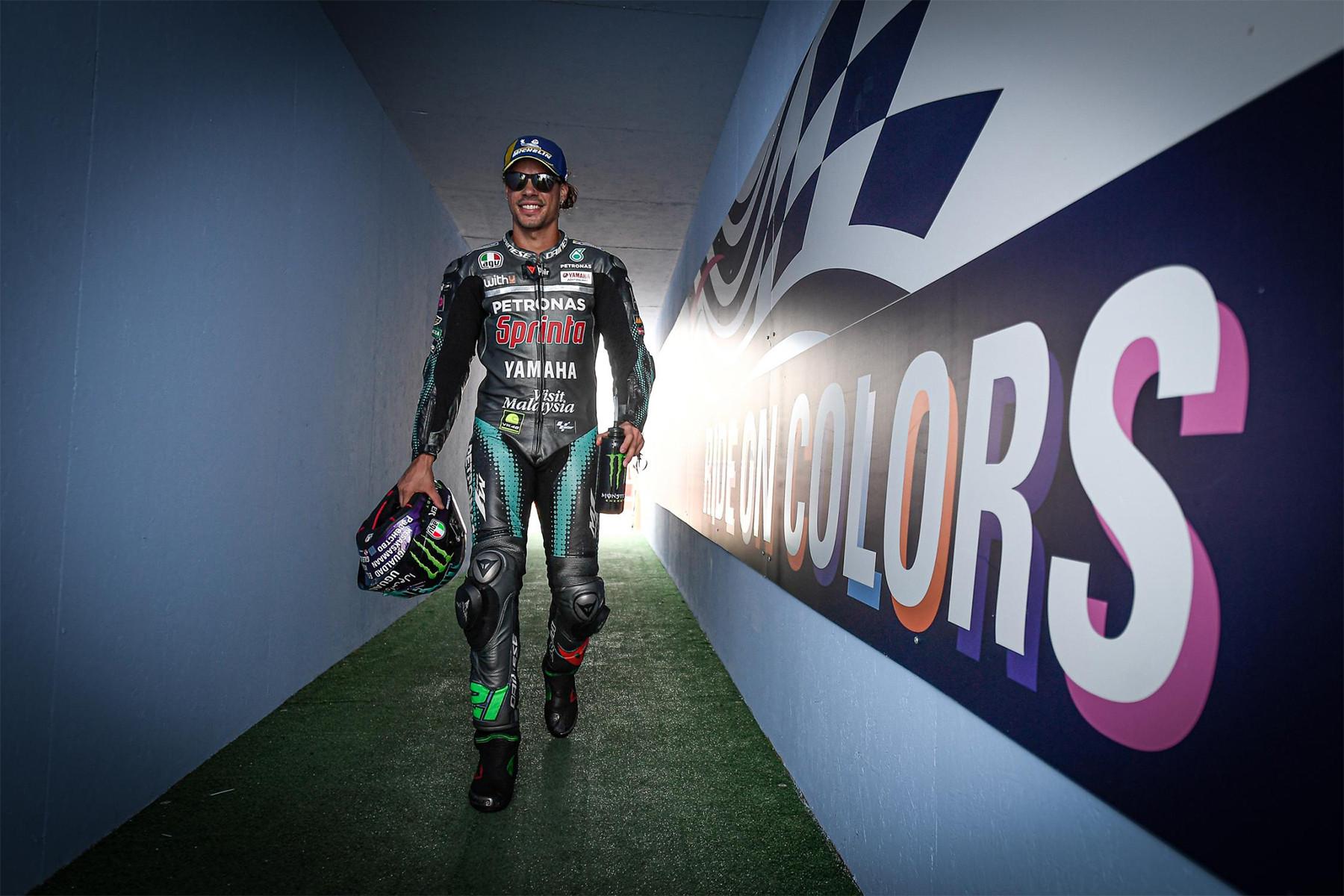 Morbidelli Pole Position MotoGP Catalunya, Rossi Ketiga - JPNN.com