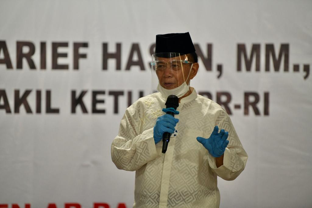 Syarief Hasan Bangga Para Santri Sudah Paham 4 Pilar Kebangsaan - JPNN.com