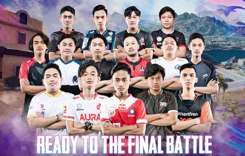 16 Tim Bertanding Sengit di Final PMPL Indonesia Season 2 - JPNN.com