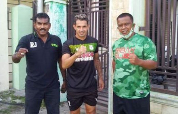 Tiba di Medan, Silvio Escobar Langsung Jalani Latihan Bersama Skuad PSMS - JPNN.com