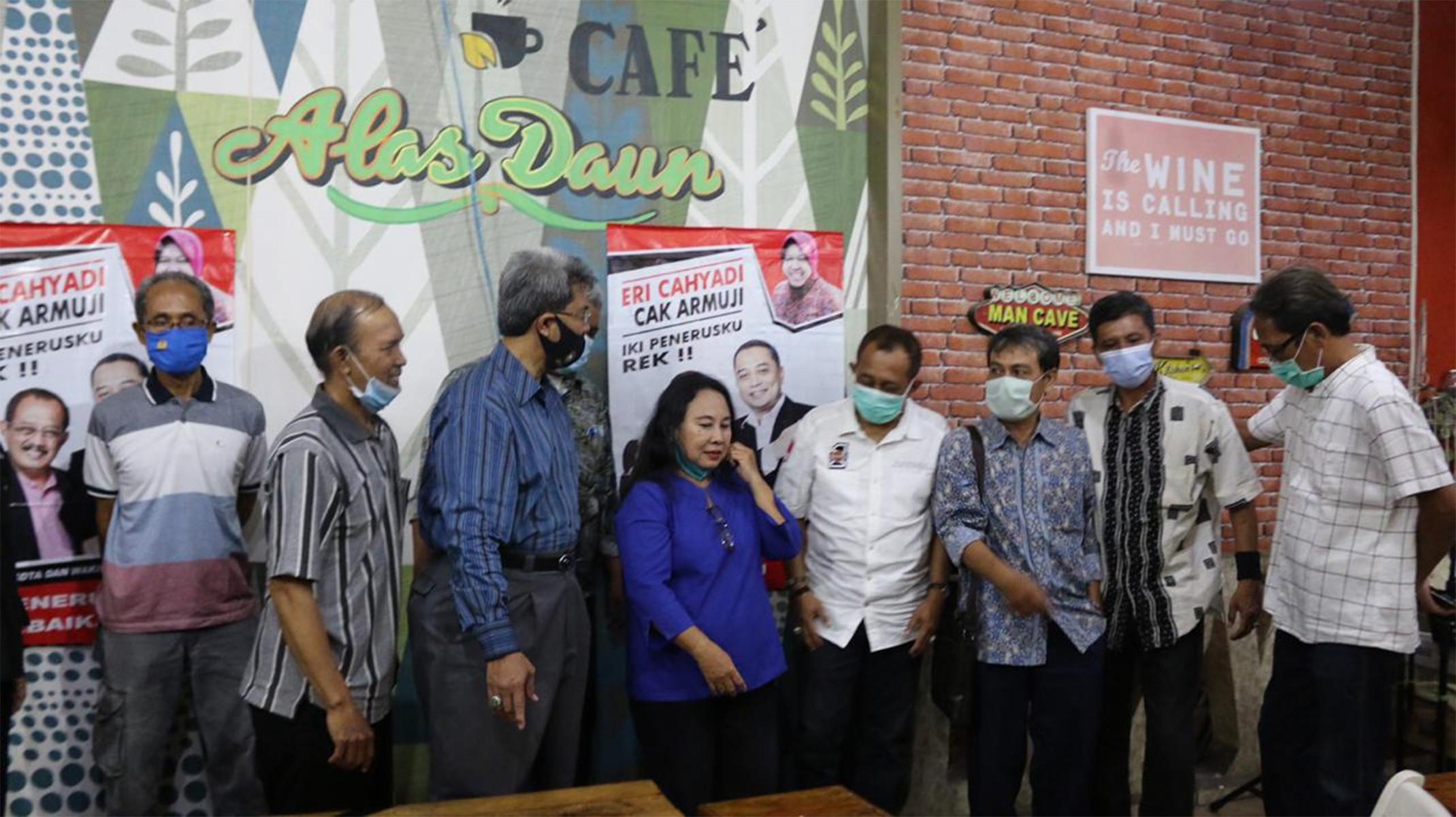 Alumni Teknik Sipil ITATS 4 Dekade Dukung Eri Cahyadi-Armuji Teruskan Program Risma - JPNN.com
