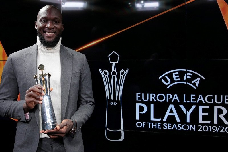 Selamat! Striker Inter Terpilih Sebagai Pemain Terbaik Liga Europa - JPNN.com