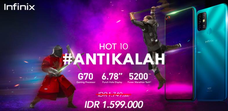 Infinix Hot 10 Resmi Dirilis di Indonesia, Sebegini Harganya - JPNN.com
