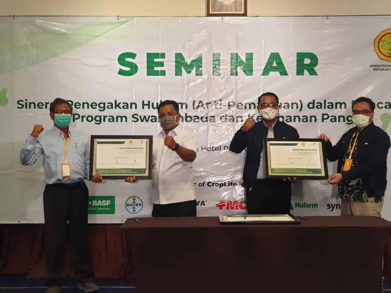 CropLife Indonesia Ajak Para Stakeholder Bersinergi Ungkap Jaringan Pemalsu Pestisida - JPNN.com