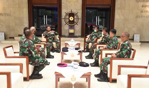 Enam Pati TNI AL Kompak Menghadap KSAL Laksamana Yudo, Ada Apa? - JPNN.com