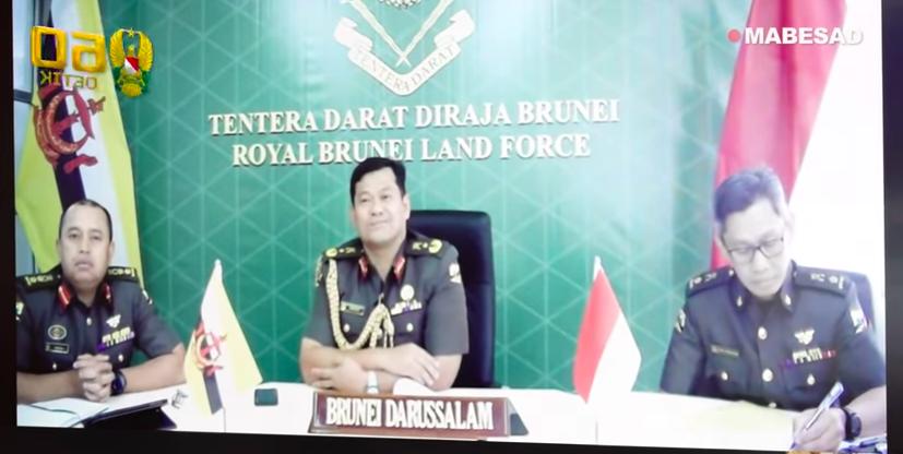KSAD Andika: Kapan Saja Kami Siap Bantu Tentara Darat Brunei - JPNN.com