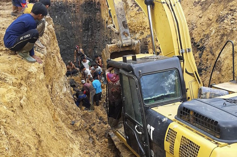 Detik-detik Longsor di Muara Enim Sumsel yang Menewaskan 11 Orang - JPNN.com