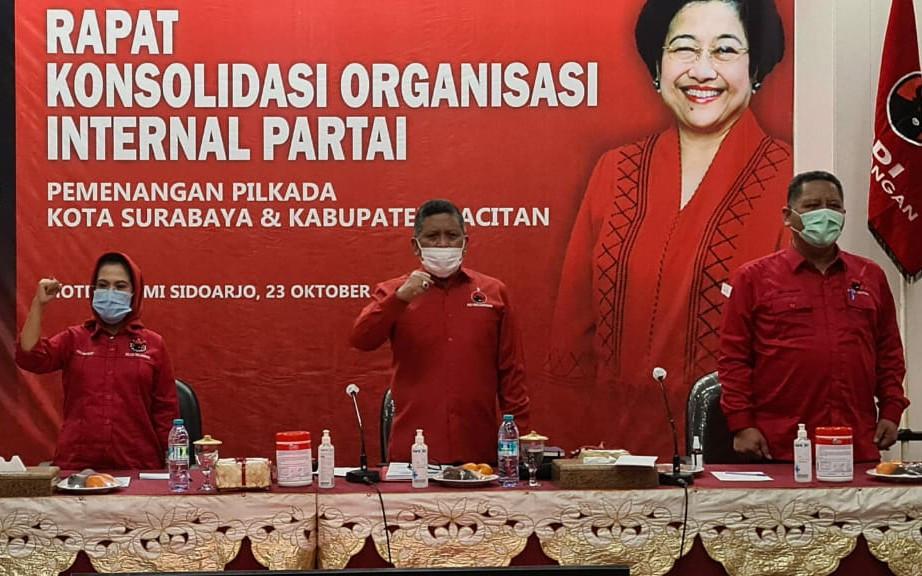 Pesan dari Bu Mega untuk Kader PDIP demi Eri-Armuji di Pilkada Surabaya - JPNN.com