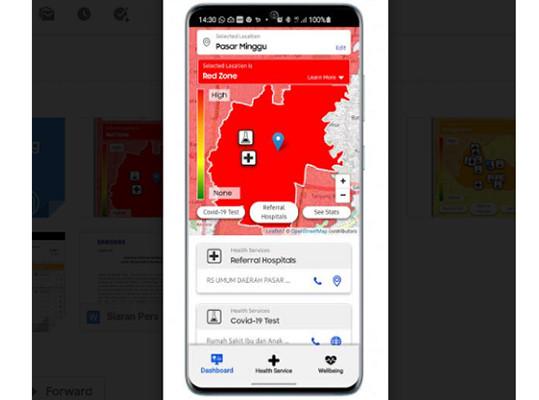 Samsung Luncurkan Aplikasi Informasi Covid-19 di Indonesia - JPNN.com