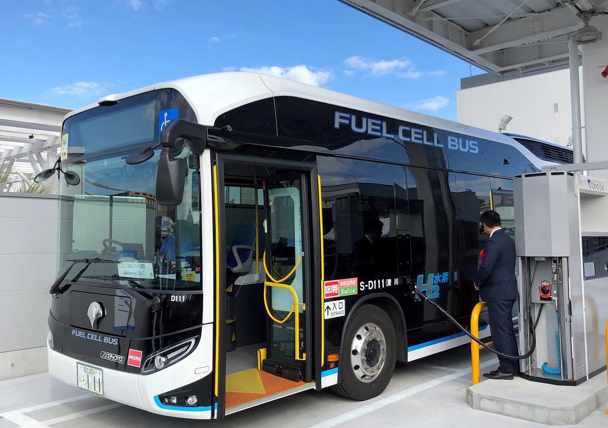 Bus Bertenaga Hidrogen Mulai Beroperasi di Tiongkok, Ramah Lingkungan - JPNN.com
