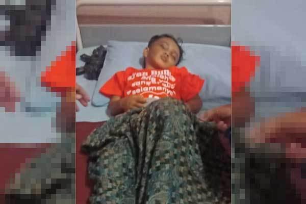 Bocah 4 Tahun Selamat dari Korban Kebrutalan Paman dan Bibinya, Terima Kasih, Pak Kapolsek - JPNN.com
