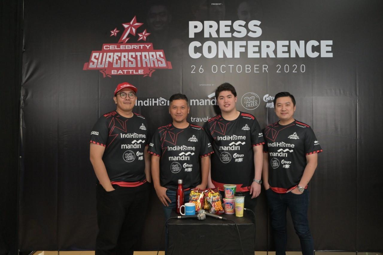 Raffi Ahmad hingga Kevin Sanjaya Panaskan e-Sports Celebrity Superstars Battle - JPNN.com