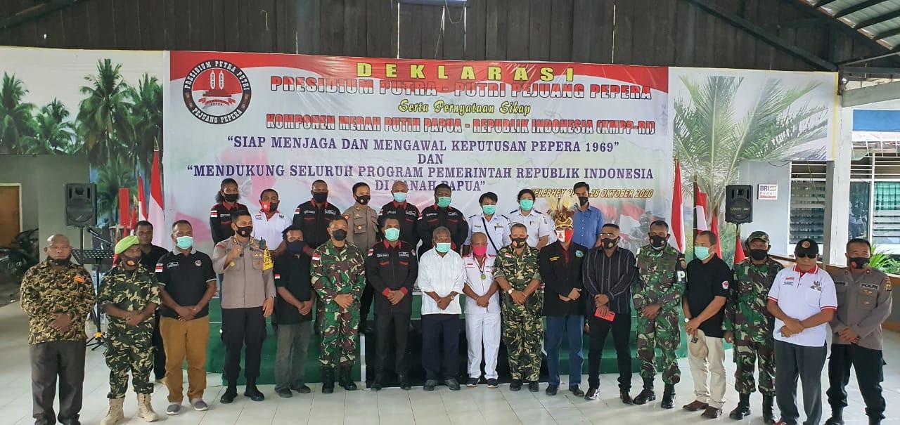 Presidium Putra Putri Pejuang Pepera Siap Mengawal NKRI - JPNN.com