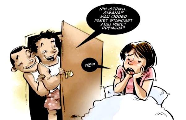 Derita Istri Cantik Dijajakan Suami Lewat Medsos - JPNN.com