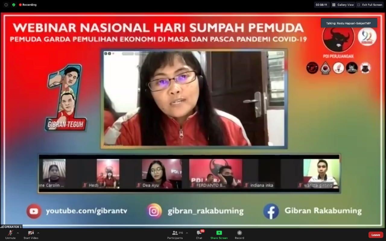 Taruna Merah Putih Akan Kerja Total Menangkan Gibran Rakabuming - JPNN.com