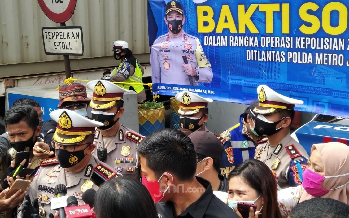 Dirlantas Sebut Warga Jakarta Taat di Wilayah Tilang Elektronik - JPNN.com