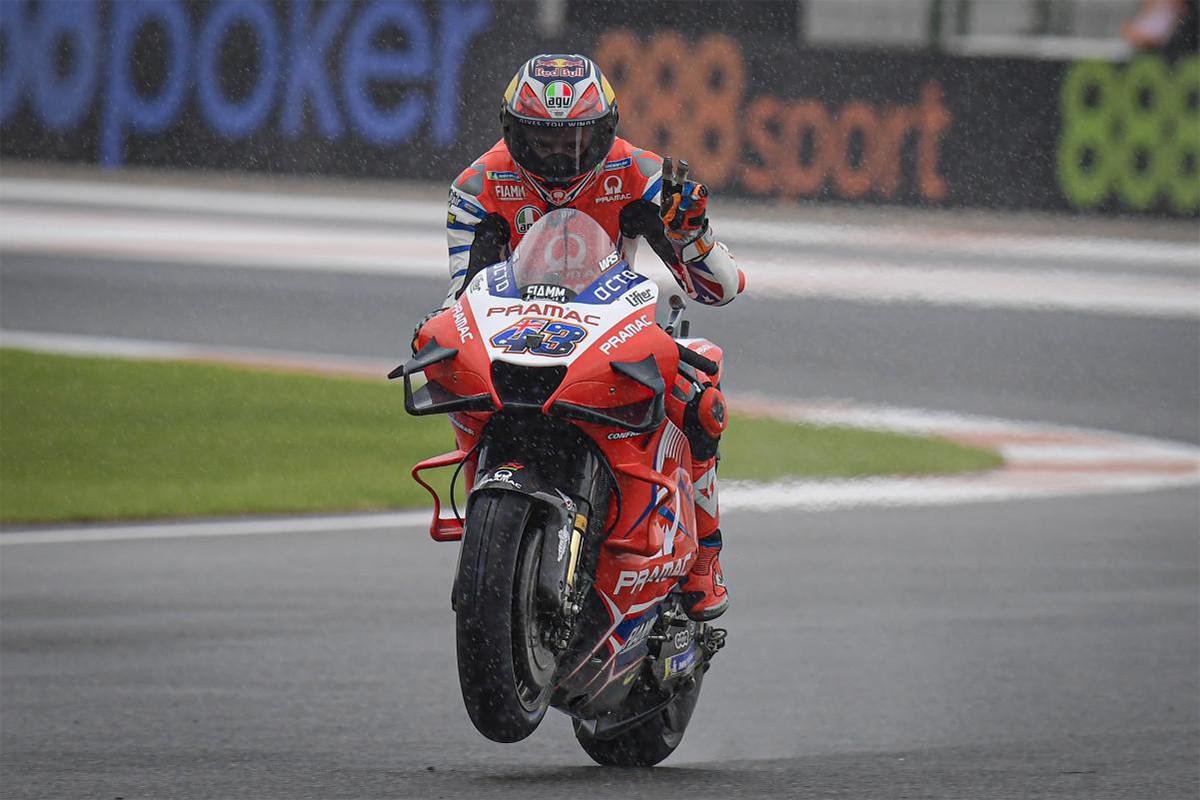Jack Miller Kuasai FP1 MotoGP Eropa yang Basah, Fabio Quartararo Juru Kunci - JPNN.com
