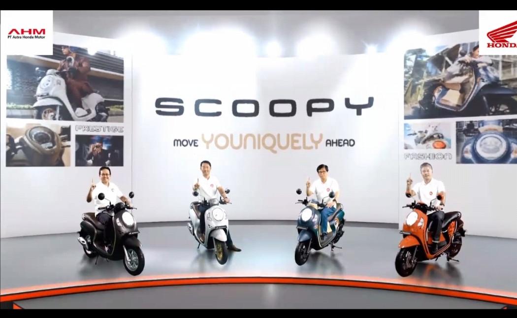 Honda Scoopy Terbaru Resmi Dirilis, Ada Fitur Smart Key dan USB Charger - JPNN.com