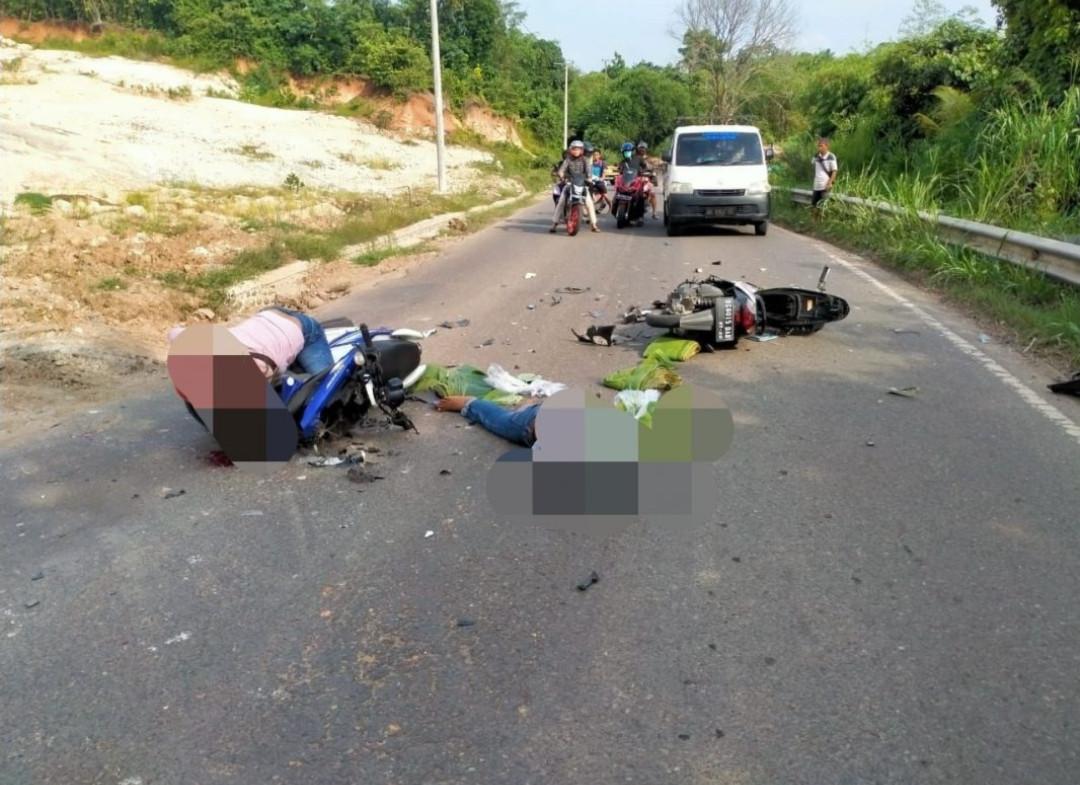Adu Banteng Honda BeAt dengan Yamaha X-Ride, Tragis - JPNN.com