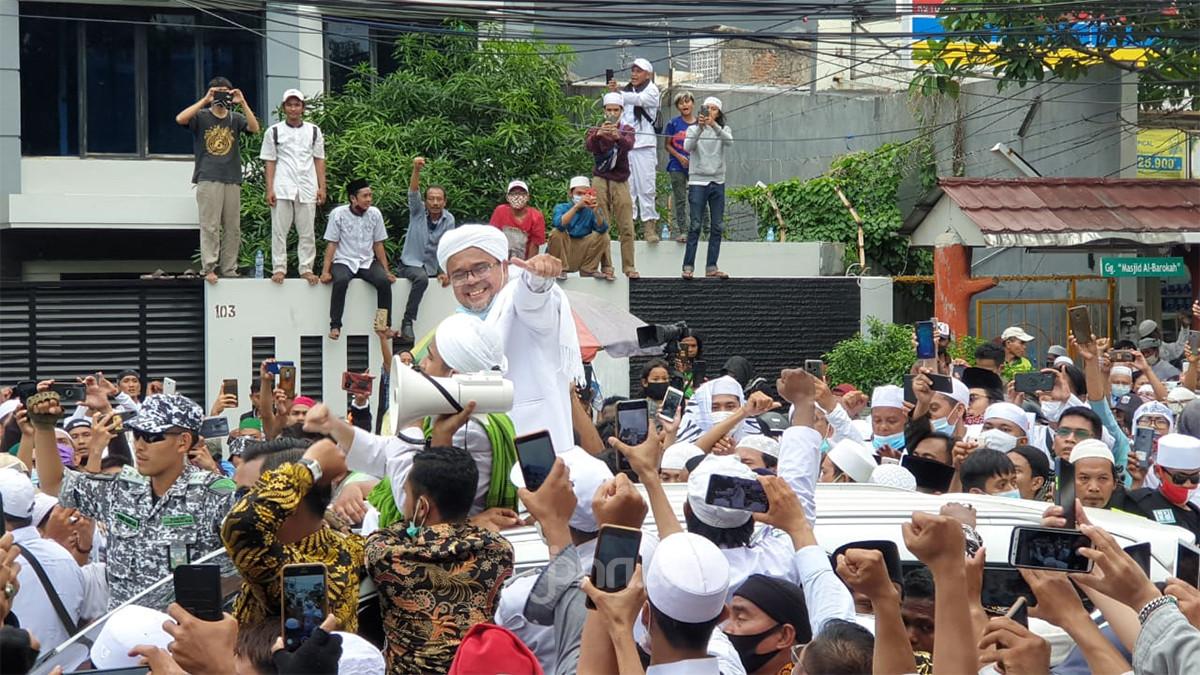 Kerumunan Acara yang Dihadiri Habib Rizieq Ciptakan Klaster Petamburan dan Tebet - JPNN.com