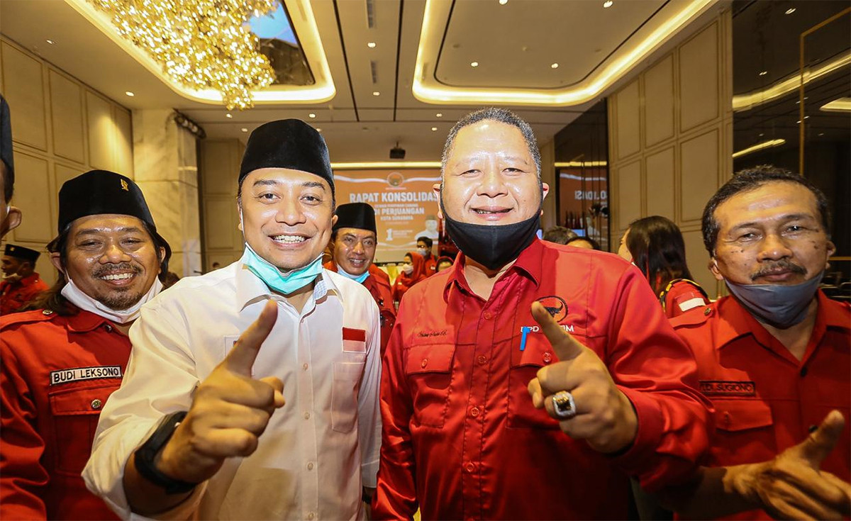 Whisnu Sakti Buana Tabuh Genderang Perang Lawan Machfud Arifin di Pilkada Surabaya - JPNN.com