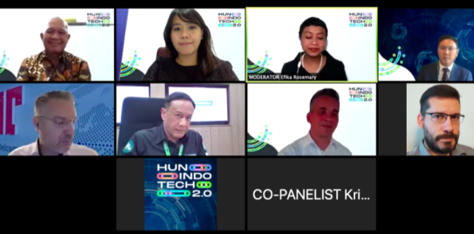 Pebisnis Teknologi Hongaria & Indonesia Berdiskusi Lewat Forum Bisnis Virtual HunIndoTech 2.0 - JPNN.com