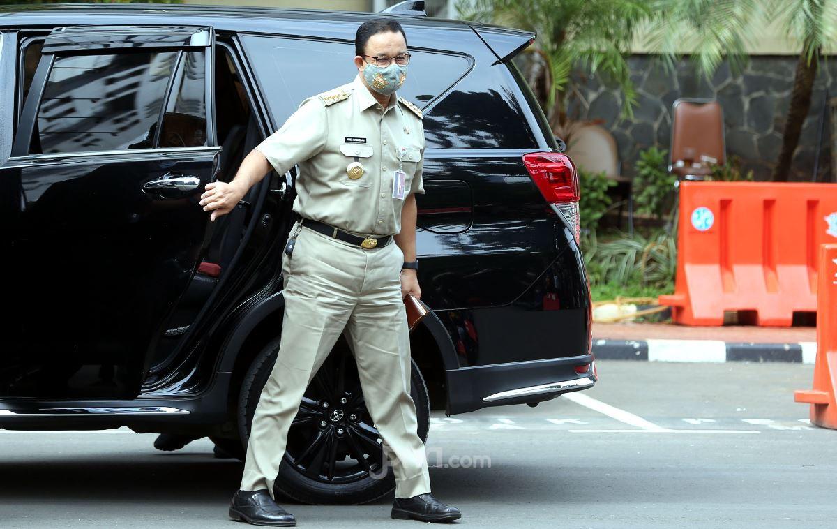 Simak, Respons Anies Tentang Gerakan Jakarta Bermasker - JPNN.com
