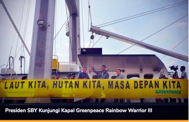 Kenapa Greenpeace tak Lapor soal Karhutla di Papua pada Presiden Sebelum Jokowi? - JPNN.com