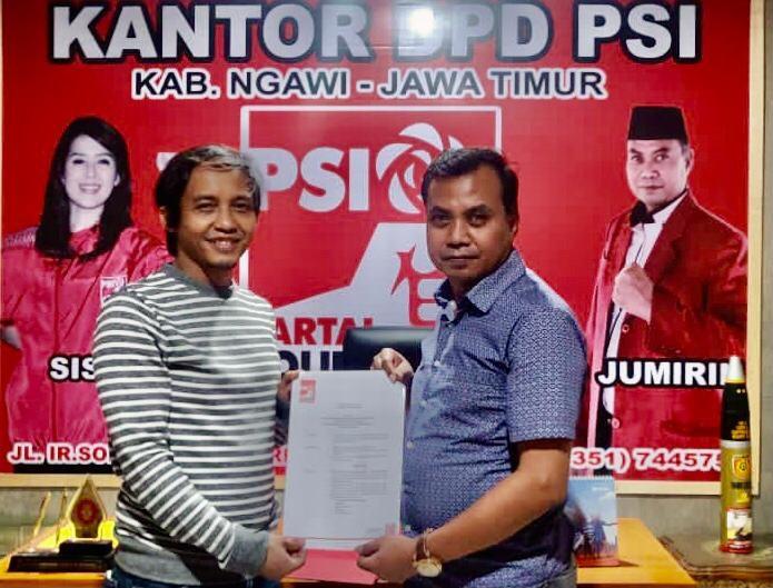 Lawan Politik Dinasti, PSI All Out Dukung Kotak Kosong di Pilkada Ngawi - JPNN.com