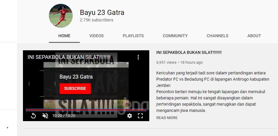 Cerita Bayu Gatra Soal Kericuhan di Laga Tarkam - JPNN.com