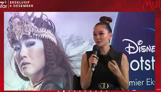 Cerita Luna Maya Saat Terpilih Mengisi Suara di Film Mulan - JPNN.com