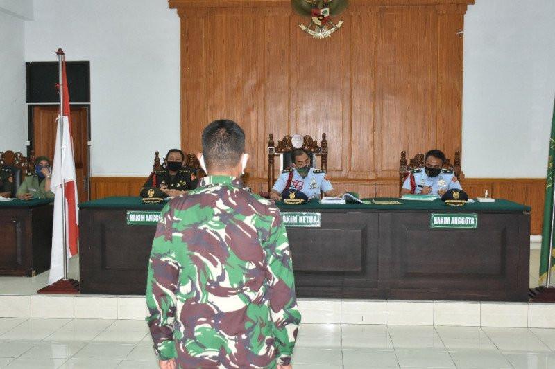 Praka Marten Priadinata Dipecat dari TNI dan Dihukum 20 Tahun Penjara - JPNN.com