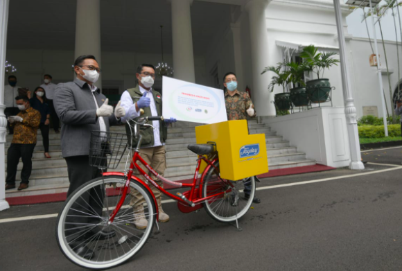 Bantu Pedagang Terdampak Pandemi, Joyday Hadirkan Program Bike For Care - JPNN.com