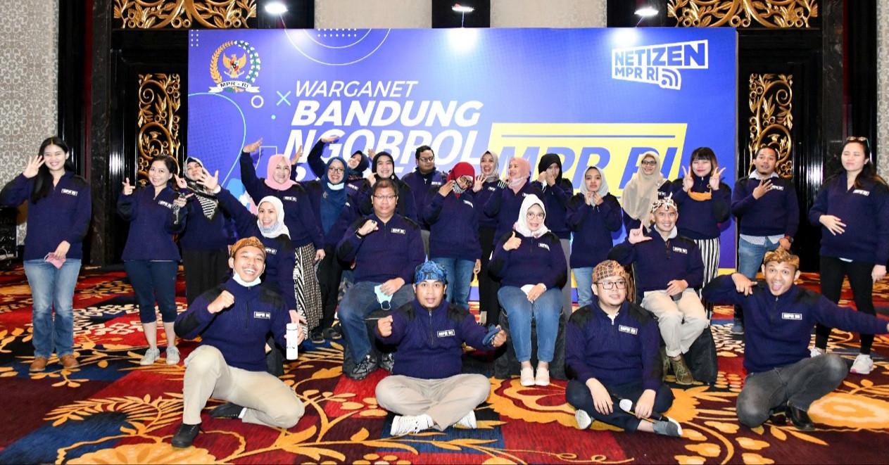 Seru, MPR Ngobrol Bareng Warganet Bandung - JPNN.com